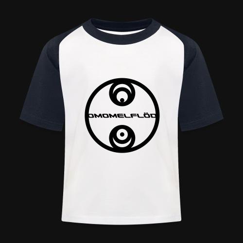 Omomelflöd - Kinder Baseball T-Shirt