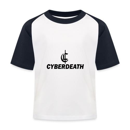 Cyberdeath Polo Tee - Kinder Baseball T-Shirt