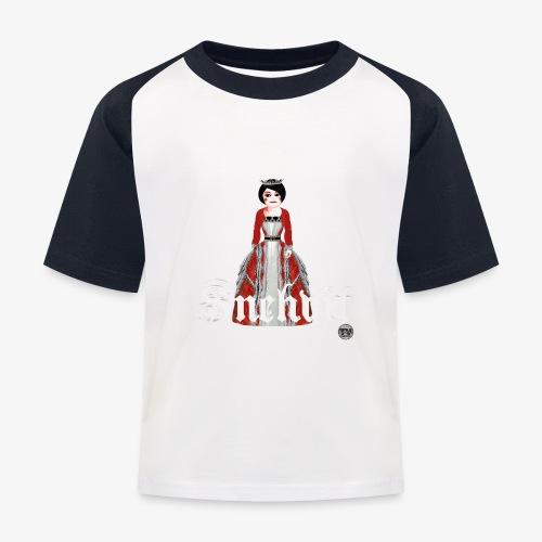 Snehvit - Baseball-T-skjorte for barn