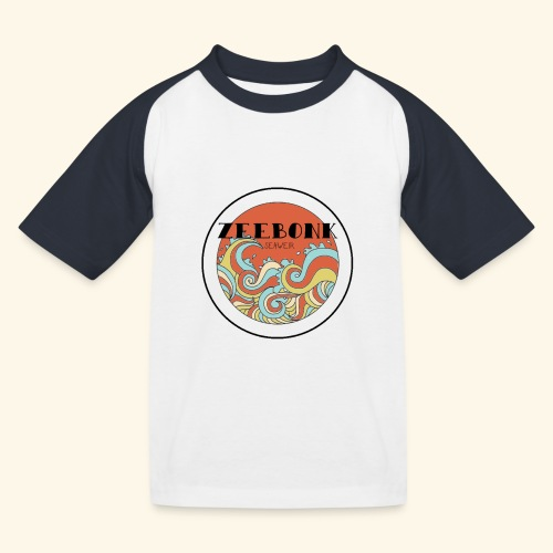 zeebonkwaves - Kinderen baseball T-shirt