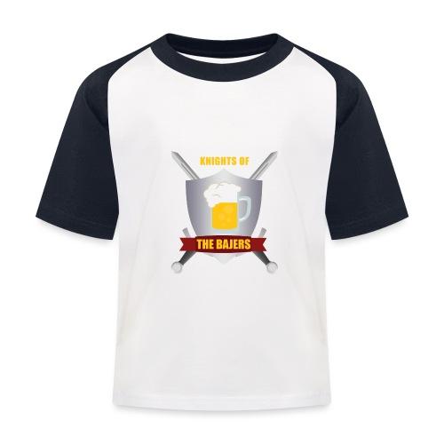 Knights of The Bajers - Baseball T-shirt til børn