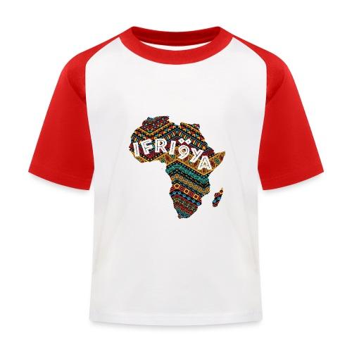 Africa - Ifriqya - T-shirt baseball Enfant