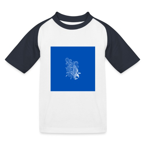 Windy Wings Blue - Kids' Baseball T-Shirt