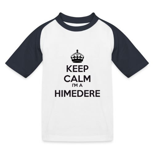 Himedere keep calm - Kids' Baseball T-Shirt