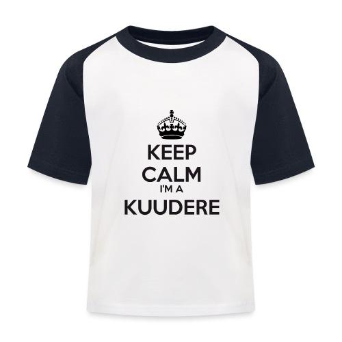 Kuudere keep calm - Kids' Baseball T-Shirt