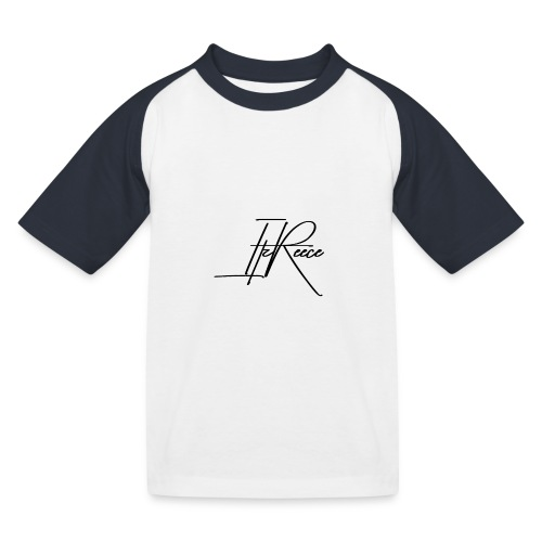 Small logo white bg - Kids' Baseball T-Shirt