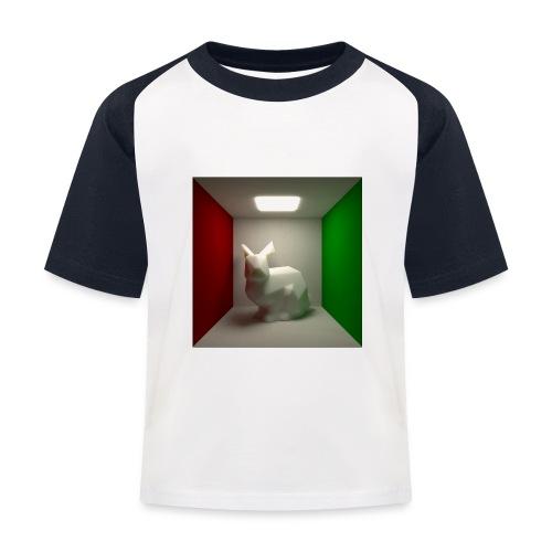 Bunny in a Box - Kids' Baseball T-Shirt