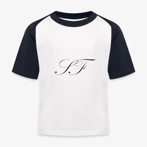 SF HANDWRITTEN LOGO BLACK - Kids' Baseball T-Shirt