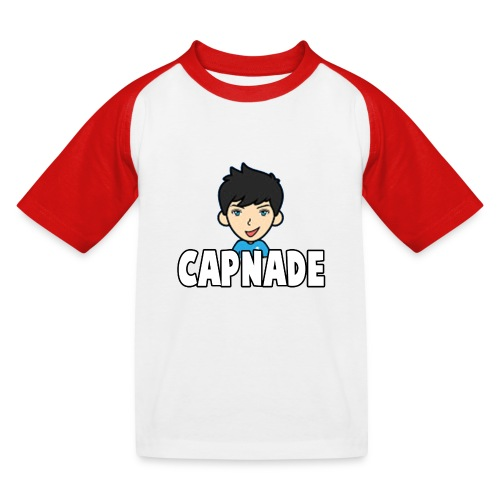 Basic Capnade's Products - Kids' Baseball T-Shirt