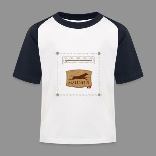 Belgian shepherd Malinois - Kids' Baseball T-Shirt