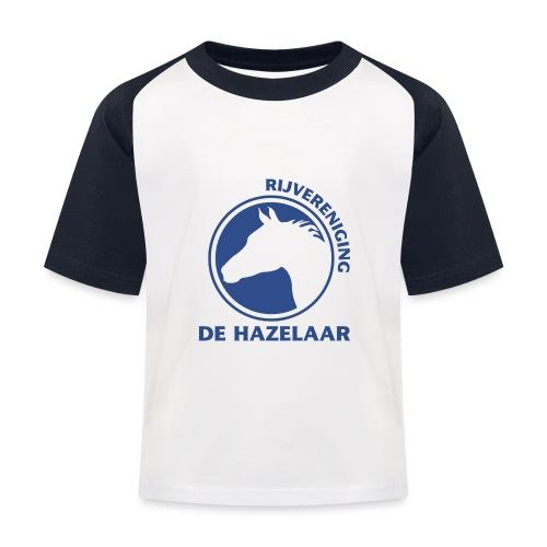 LgHazelaarPantoneReflexBl - Kinderen baseball T-shirt