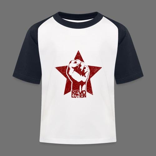 Revolution (oldstyle) - Lasten pesäpallo  -t-paita