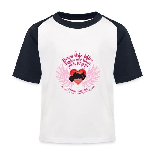 Kabes Fast Bum T-Shirt - Kids' Baseball T-Shirt