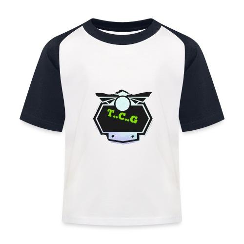 Cool gamer logo - Kids' Baseball T-Shirt