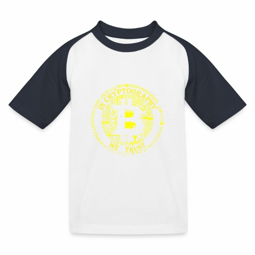 In cryptography we trust 2 - Kids' Baseball T-Shirt