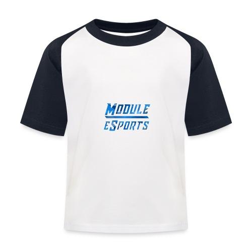 Module Text Logo - Kids' Baseball T-Shirt