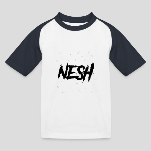 Nesh Logo - Kinder Baseball T-Shirt