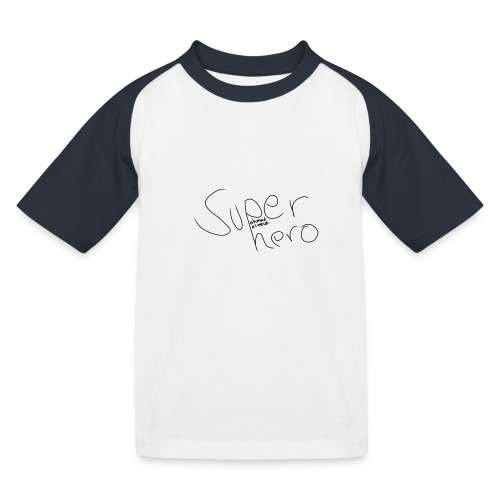 SUPERHERO - Kinder Baseball T-Shirt