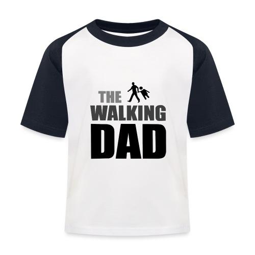 the walking dad auf dem Weg in die lustige Bar - Kinder Baseball T-Shirt