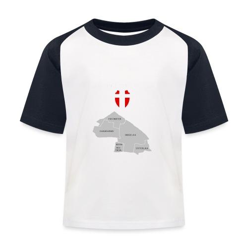 straight outta favoriten wien weiß - Kinder Baseball T-Shirt
