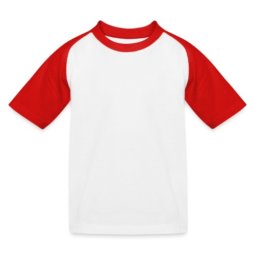 Level 1 Human - Wit - Kinderen baseball T-shirt