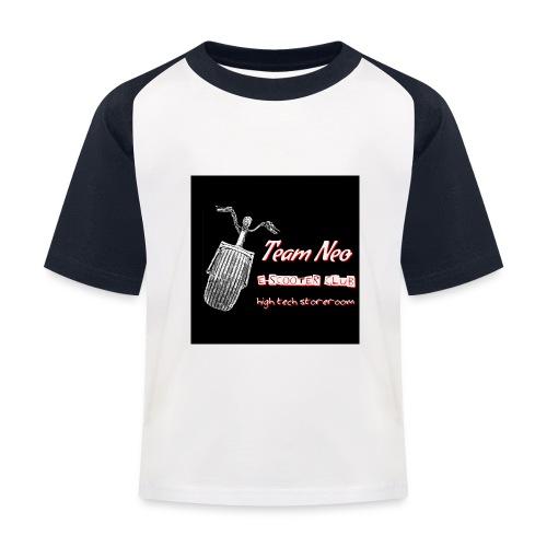 Neo Scooter Club - T-shirt baseball Enfant