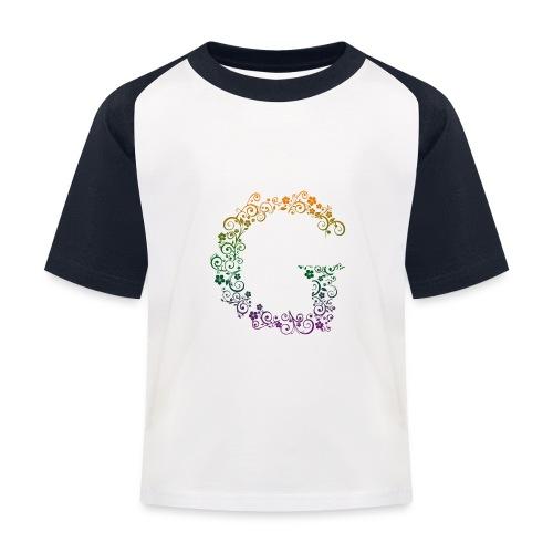 G wie Garten - Kinder Baseball T-Shirt