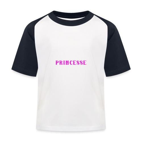 je suis une princesse qui naissent juillet - T-shirt baseball Enfant