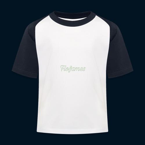 camicia di flofames - Maglietta da baseball per bambini