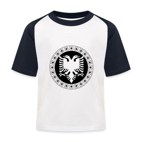 Albanien Schweiz Shirt - Kinder Baseball T-Shirt