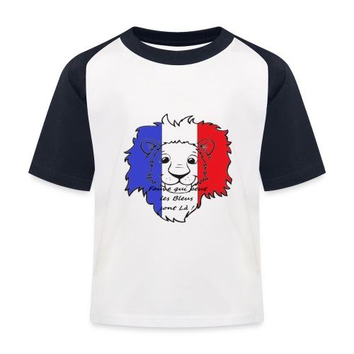 Lion supporter France - T-shirt baseball Enfant