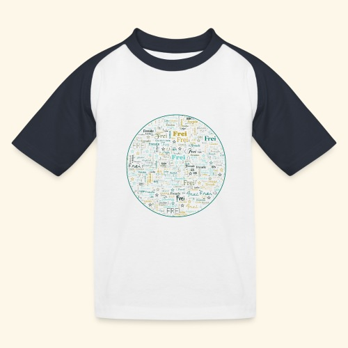 Ich bin - Kinder Baseball T-Shirt