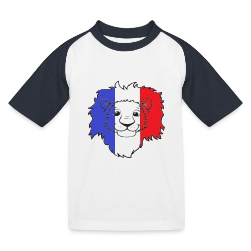 Lion France - T-shirt baseball Enfant
