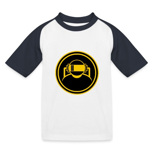 Mens Slim Fit T Shirt. - Kids' Baseball T-Shirt