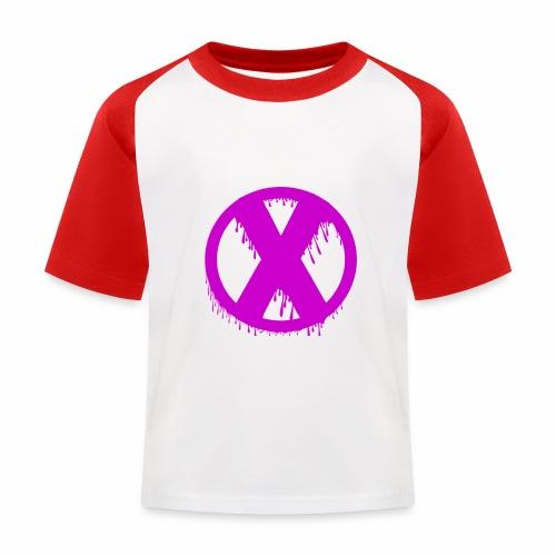 X - T-shirt baseball Enfant