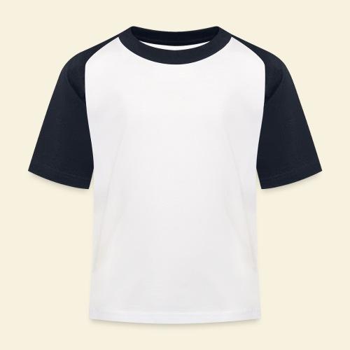 Dog Silhouette - Kinder Baseball T-Shirt
