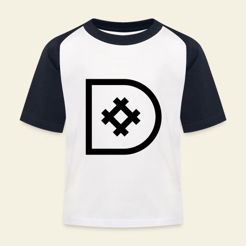Icona de #ildazioètratto - Maglietta da baseball per bambini