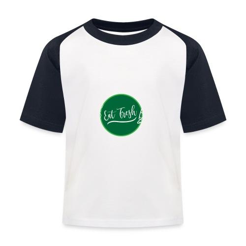 Gezond eten vegetarische t-shirt - Kinderen baseball T-shirt