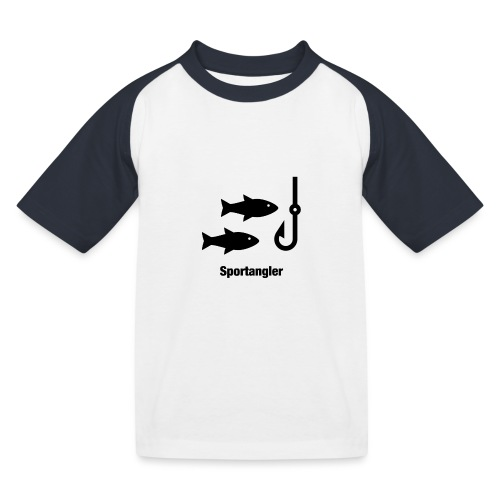 Sportangler - Kinder Baseball T-Shirt
