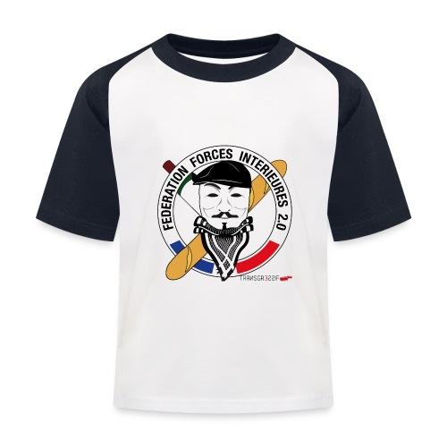 FFi Anonymous - T-shirt baseball Enfant