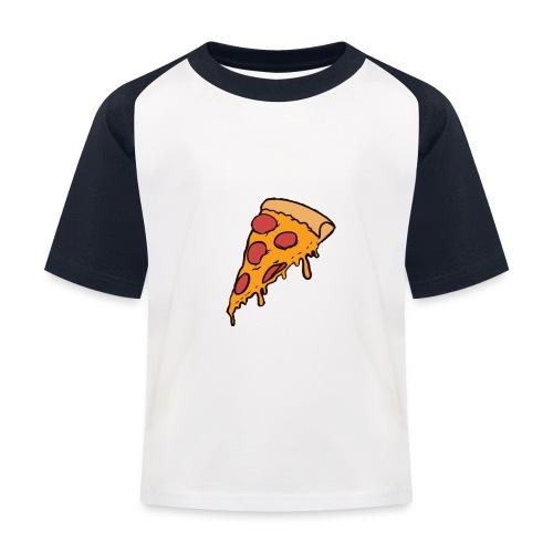 Pizza - Camiseta béisbol niño