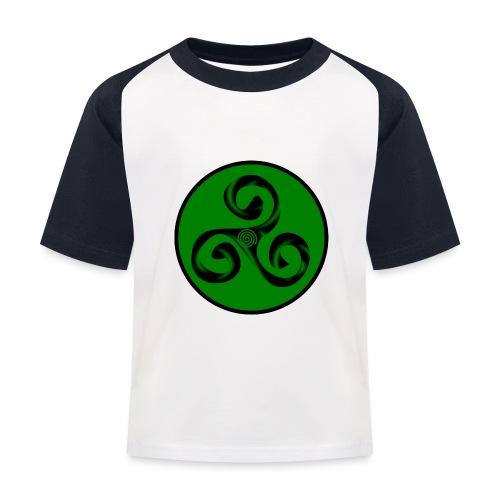 Triskel and Spiral - Camiseta béisbol niño