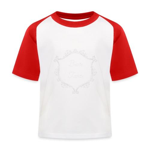 Beste Tante - Kinder Baseball T-Shirt