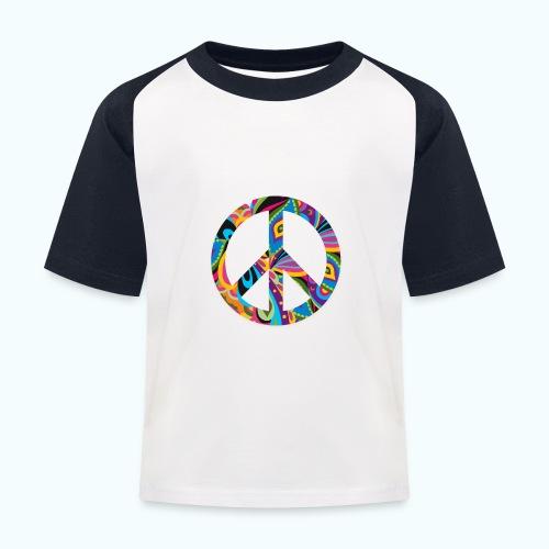 70s vintage hippie - Kids' Baseball T-Shirt