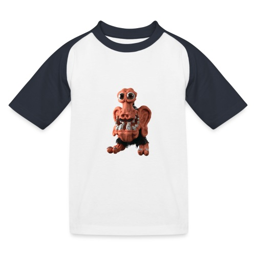Very positive monster - Kids' Baseball T-Shirt