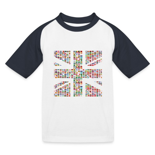 The Union Hack - Kids' Baseball T-Shirt