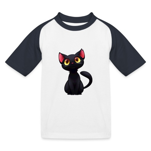 Black Cat - T-shirt baseball Enfant