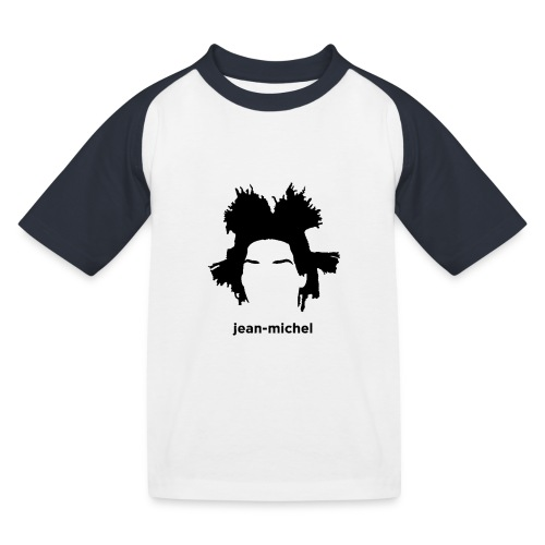 Jean-Michel Basquiat - Maglietta da baseball per bambini
