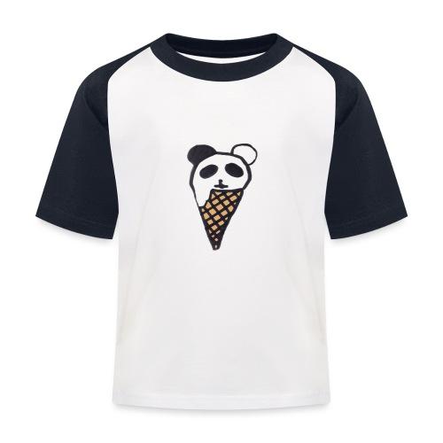 Petit Panda - T-shirt baseball Enfant