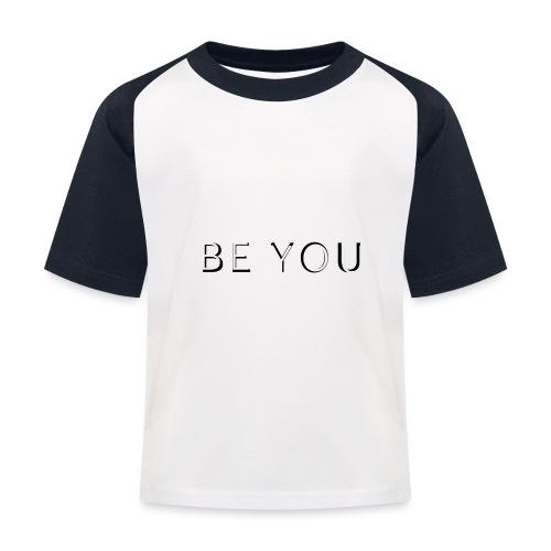 BE YOU Design - Baseball T-shirt til børn